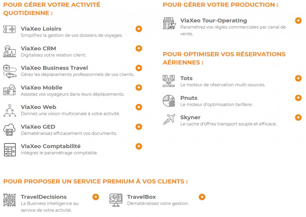 Nouveau site internet ViaXoft